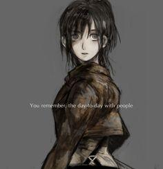 Sasha , Shingeki no Kyojin Attack on Titan (art from pixiv)