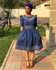 P&H boutique African print dresses are handmade with exceptional attention to detail. At P&H boutique we stay on top of the latest ankara fashion trends and are trailblazers in the African print fashion industry. South African Dresses, South African Traditional Dresses, Latest African Fashion Dresses, African Dresses For Women, African Print Fashion, African Attire, Traditional Outfits, South African Clothing, Sotho Traditional Dresses