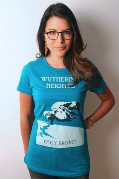 I love this site for T's and sweatshirts that promotes books.  With each purchase the site sends a book to a community in need.