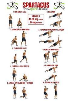 Spartacus, sangre y arena, el entrenamiento