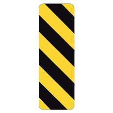 ROAD MARKER YELLOW AND BLACK