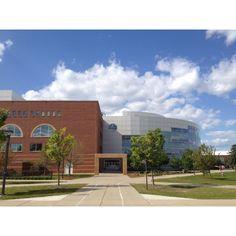 Park Library at Central Michigan University, Mt. Pleasant, Michigan
