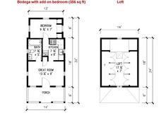 Tiny House On Wheels Plans tumbleweed tiny house company bodega small house plans | micro