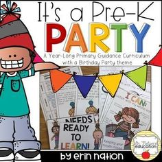 A year's worth of PreK Classroom Guidance Lessons for the School Counselor working with primary or Pre-Kindergarten students Elementary Counseling, Career Counseling, School Counselor, Character Education, Career Education, Physical Education, Core Curriculum, Guidance Lessons, Pre Kindergarten