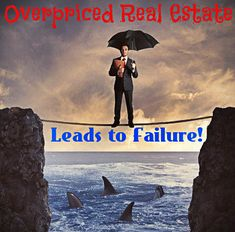 How overpricing a home out of the gate when first listed for sale can have a damaging effect you may not recover from. Overpriced real estate doesn't sell!