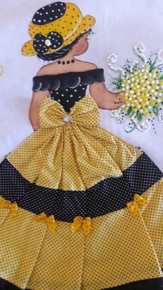 Patchwork Cojines Tutorials New Ideas Ribbon Embroidery, Embroidery Patterns, Quilt Patterns, Quilting Projects, Quilting Designs, Sunbonnet Sue, Doll Quilt, Applique Quilts, Applique Designs