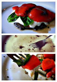 Grilled Portabella Mushroom Lunch