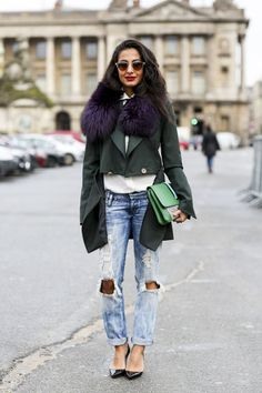 Style-Guide: zerrissene Jeans richtig tragen