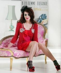 The lady herself: Alannah Hill