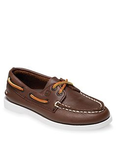 Sperry Boys  A O Boat Shoes - Little Kid, Big Kid   Leather 58c44661538
