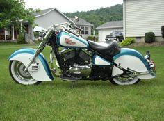 Best Looking Drifters Ever! Kawasaki Drifter, Kawasaki Bikes, Kawasaki Vulcan 800, Indian Motors, Aftermarket Motorcycle Parts, Rockabilly Cars, Custom Cycles, Vintage Bikes, Cars And Motorcycles