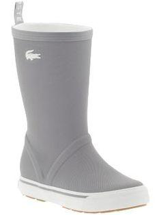 Lacoste Rain Boots $100.00