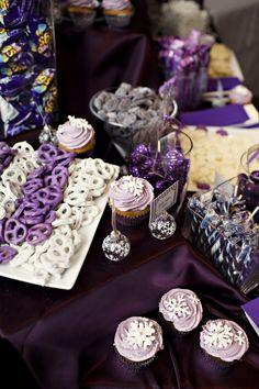Candy Buffet Table (white pretzels)