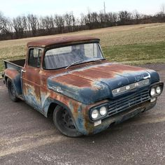 pics of rat rod trucks Dually Trucks, Old Ford Trucks, Pickup Trucks, Truck Drivers, Diesel Trucks, Semi Trucks, Lowrider, Rat Rod Cars, Rat Rods