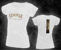 KAMPFAR - muro muro minde (white Girlie-Shirt)