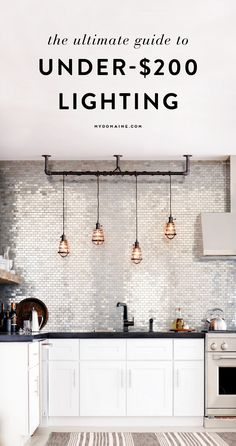 Affordbale Home Upgrades - Affordable lighting for every price range and home - Affordable upgrades to make your home look expensive Trendy Home Decor, Inexpensive Home Decor, Cheap Home Decor, Home Interior Design, Interior Decorating, Home Upgrades, Home Lighting, Lighting Ideas, Home Look