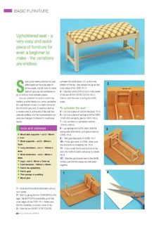 tutorial miniature bench dollhouse pinterest miniatur puppenstube und sch ner wohnen. Black Bedroom Furniture Sets. Home Design Ideas