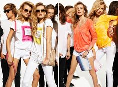 Juicy Couture Taps Edita Vilkeviciute and Magdalena Frackowiak for Summer 2013 | Fashion Gone Rogue: The Latest in Editorials and Campaigns