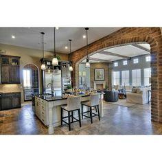 Home Upgrades, Design Hotel, Küchen Design, Design Ideas, Brick Design, Brick Archway, Brick Walls, Brick Fireplace, Brick Room