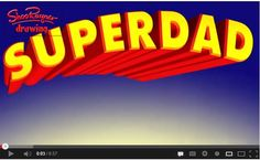 """""""Super Dad"""" is a wonderful heart warming story written and read by author Shoo Rayner. The story is about a little boy who feels  his dad works very hard and has no time to play with him. Then one day a super hero visits him. The boy has a blast spending the day with the super hero! But the super hero looks very familiar! Beautiful story with simple text and colorful illustrations is a perfect read for Father's Day!"""
