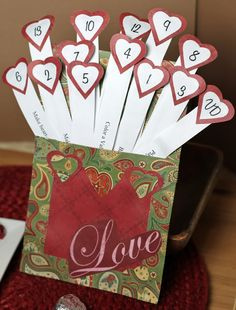 Valentine's Day Advent Ideas