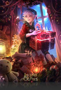 Artist: Atents - Title: 04legend - Card: Jolly Christmas Puck