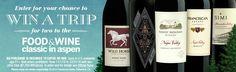 Win a Luxe Escape to The Food & Wine Classic in Aspen, Colorado