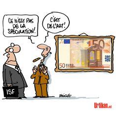 Les œuvres d'art hors ISF - Dessin du jour - Urtikan.net