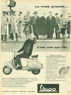 Vespa  World 1958