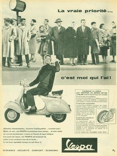 Vespa  World 1958
