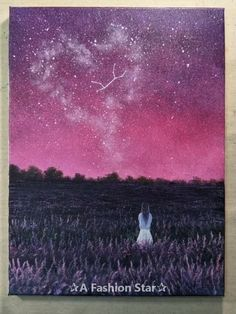 Are you looking for some Easy Painting for home Decor? The art of starry sky painting is very popular in recent years Informationen zu 10 Easy DIY Painting For Home Decor – Star Art Ideas Pin Sie können mein … Painting Videos, Easy Paintings, Painting Techniques, How To Start Painting, Art Sketches, Art Drawings, Sky Painting, Wow Art, Star Art