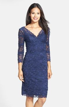 Marina Tiered Lace Dress on shopstyle.co.uk
