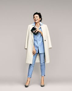 Classic look from Garance Dore