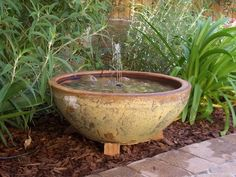 Blog Multiflora: Fontes com Vasos Cerâmicos