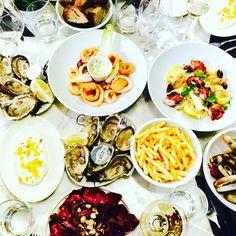 Wonderful feast at Edgar, Paris 2 #edgarrestaurant #parisianblackbook #gourmet #burrata