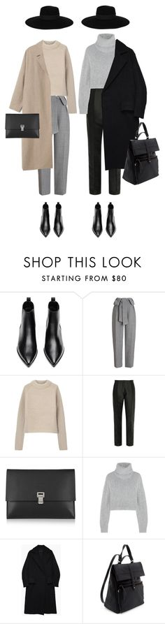 """""""140   by SI"""" by sarahiracheni ❤ liked on Polyvore featuring Acne Studios, Whistles, Vilshenko, Proenza Schouler, Dion Lee, Hachung Lee, Zara, Maison Michel, women's clothing and women's fashion"""