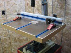 Yet another Drill Press Table - by ChrisBunker @ LumberJocks.com ~ woodworking community