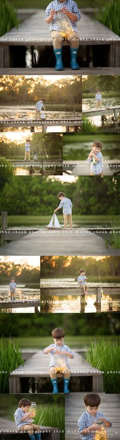 fireflies, fishin and little boy hugs… chubby cheek photography the woodlands tx photographer