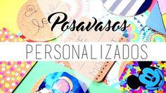 Posavasos personalizados ♡ DIY ❀ Manualidades    Likesely - http://cryptblizz.com/como-se-hace/posavasos-personalizados-%e2%99%a1-diy-%e2%9d%80-manualidades-likesely/