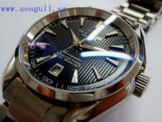 Seagull Sea-Master Black Mens Gear, Omega Watch, Rolex Watches, Accessories, Black, Chinese, Black People, Chinese Language, Jewelry Accessories