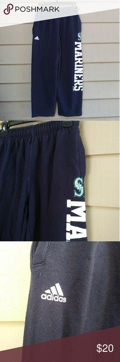 374e11ccc Youth 14/16 Adidas Seattle Mariners Sweats Good shape/light wear 12-14