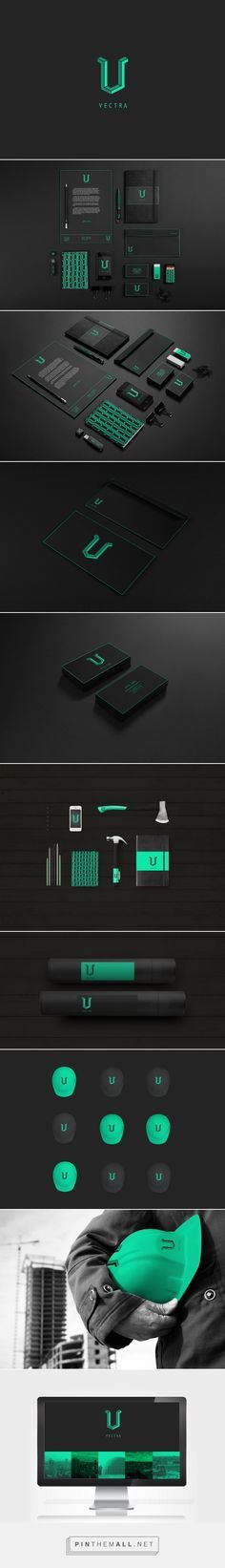 Vectra Construction on Behance  | Fivestar Branding – Design and Branding Agency & Inspiration Gallery