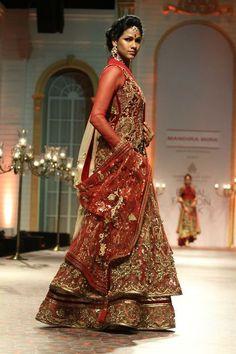 Indian Bridal Wear Red Bride Wedding