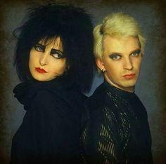 Siouxsie Sioux & Steven Severin, 1984
