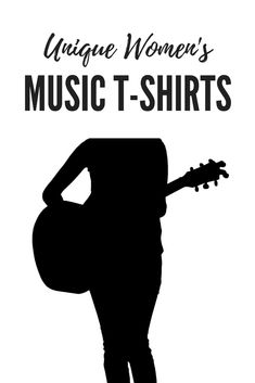 Unique looking women s music t-shirts with different designs to show how  much you love fa720de398