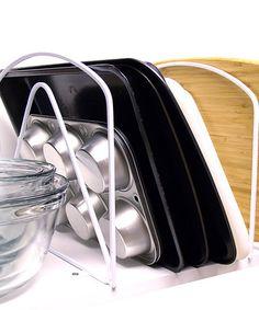 Another great find on #zulily! White Kitchen Cabinet Divider - Set of Two #zulilyfinds