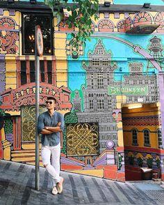 Brooklyn in Hong Kong - Exploring the street arts & food of Soho (is there a better combo? ) - #hongkong #soho #LevitateStyle #levitatehongkong