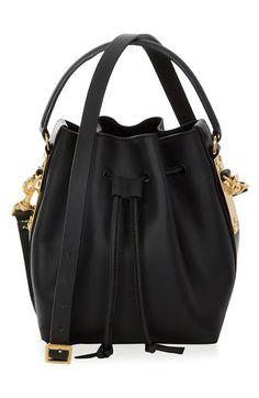 Sophie Hulme 'Small' Drawstring Leather Crossbody Bag #Handbag #SophieHulme