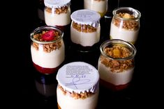 Yogurt and Granola :) I love these jars!