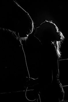 equestrian silhouette...love these kinds of lighting shots!